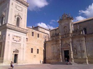 Lecce Cathedral, Puglia, South Italy