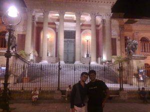 Godfather steps, Palermo, Sicily, Italy