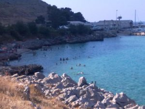 Palermo beach, Sicily, Italy