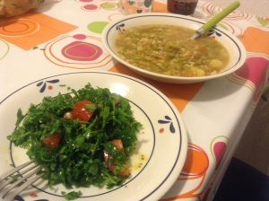 Lebanese Tabouleh made with parsley