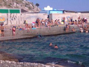 swimming area castro salento, Puglia