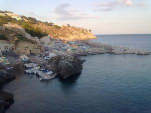 boats at castro salento, Puglia