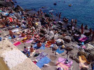 Rocky beaches of Salento, Puglia