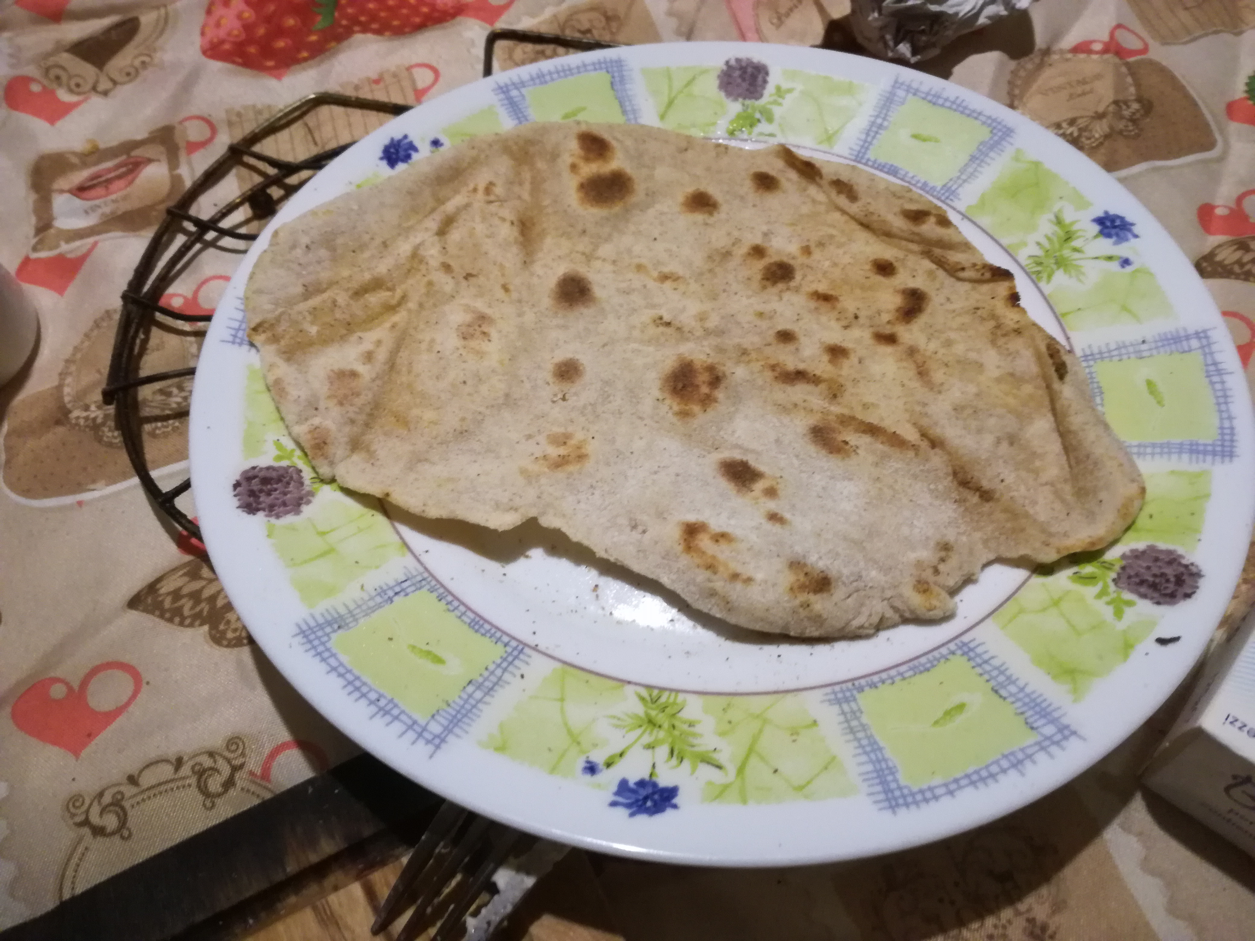 All my friends are getting married but I learnt to make the Indo- Italian Chapati bread