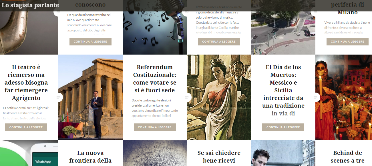 lo stagista parlante: Italian blog reccommendation