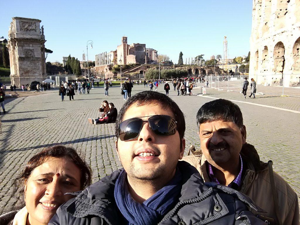 Indian family trip Europe
