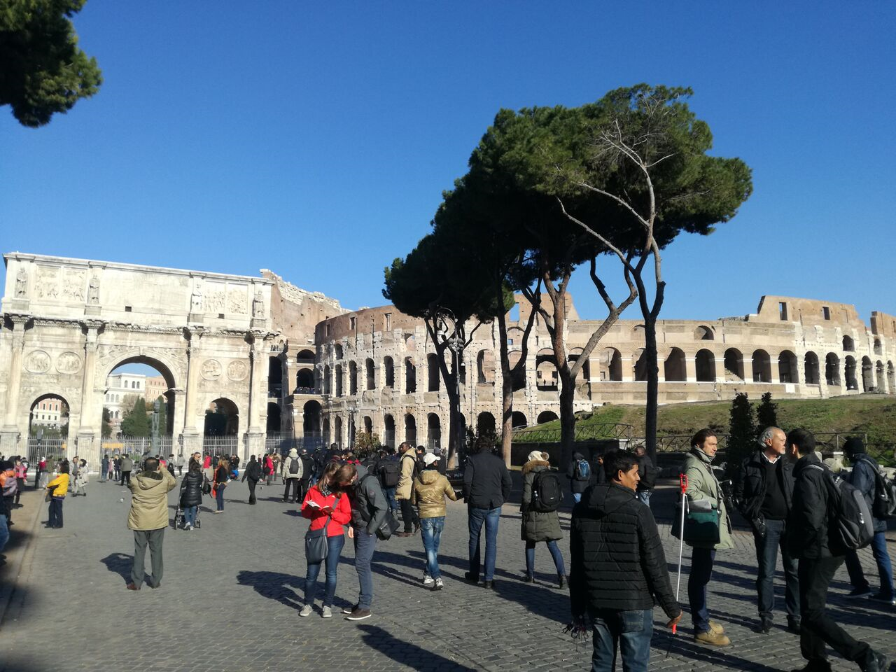 Rome in Winter