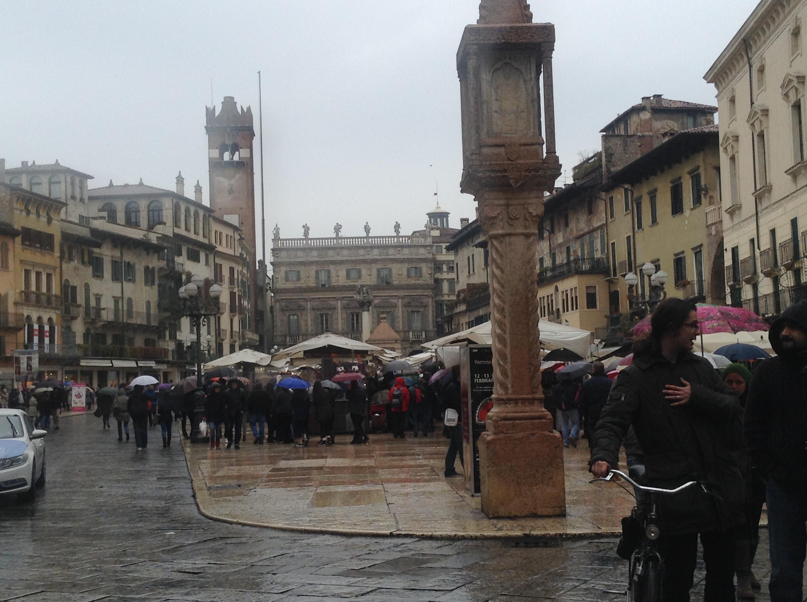 Verona, rainy day, MilanKaRaja.com