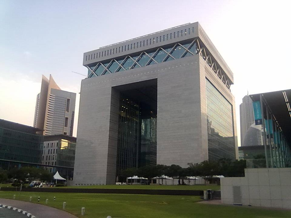 The iconic DIFC building, Dubai