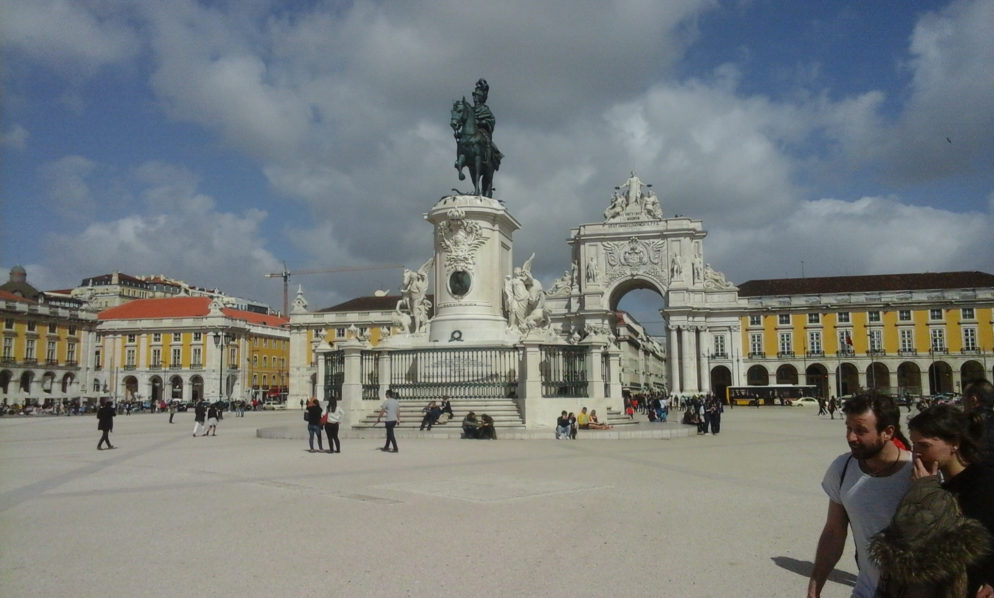 Lisbon city square, MilankaRaja.com