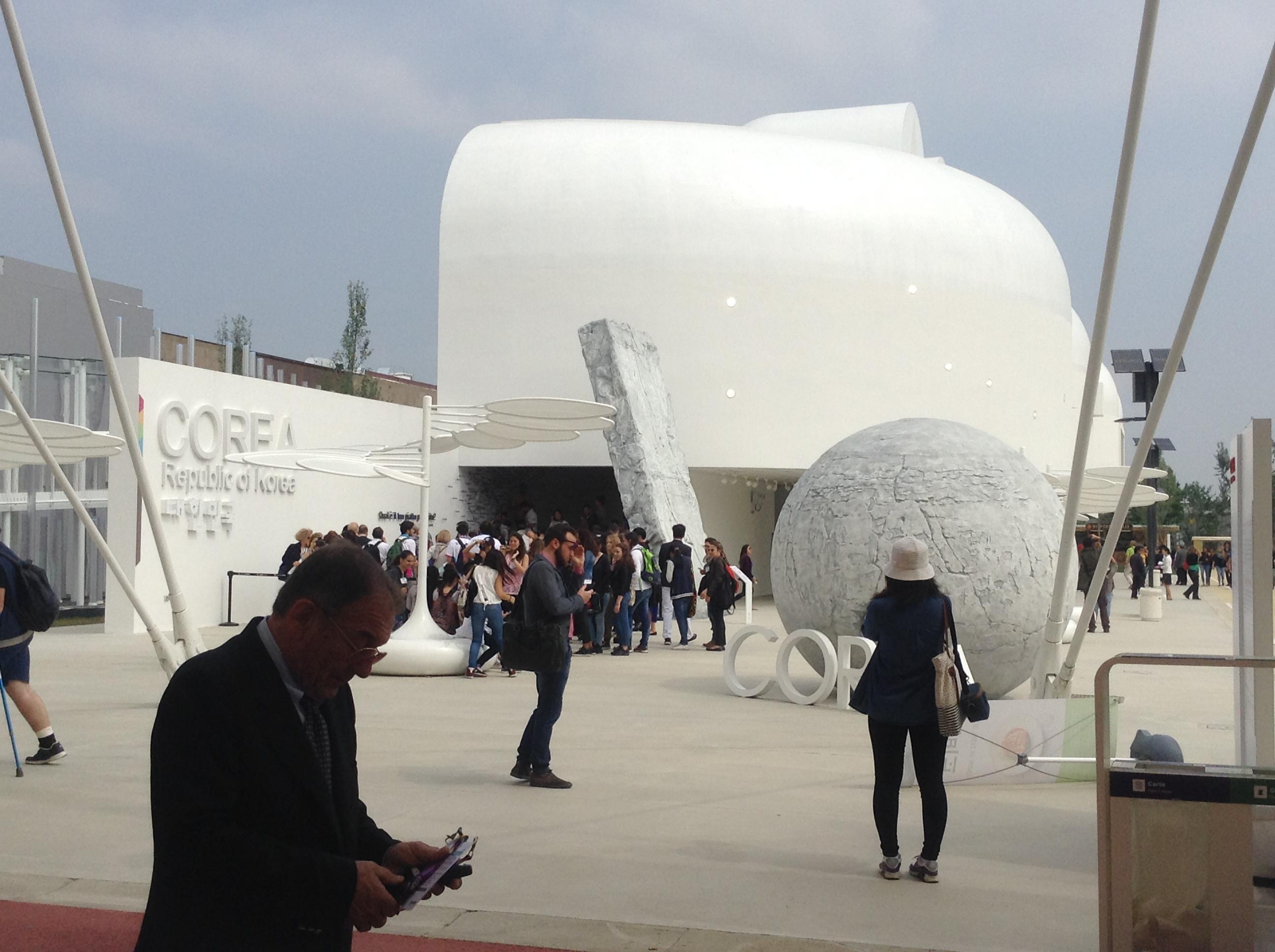 Korean pavilion, Milano Expo 2015, MilanKaRaja