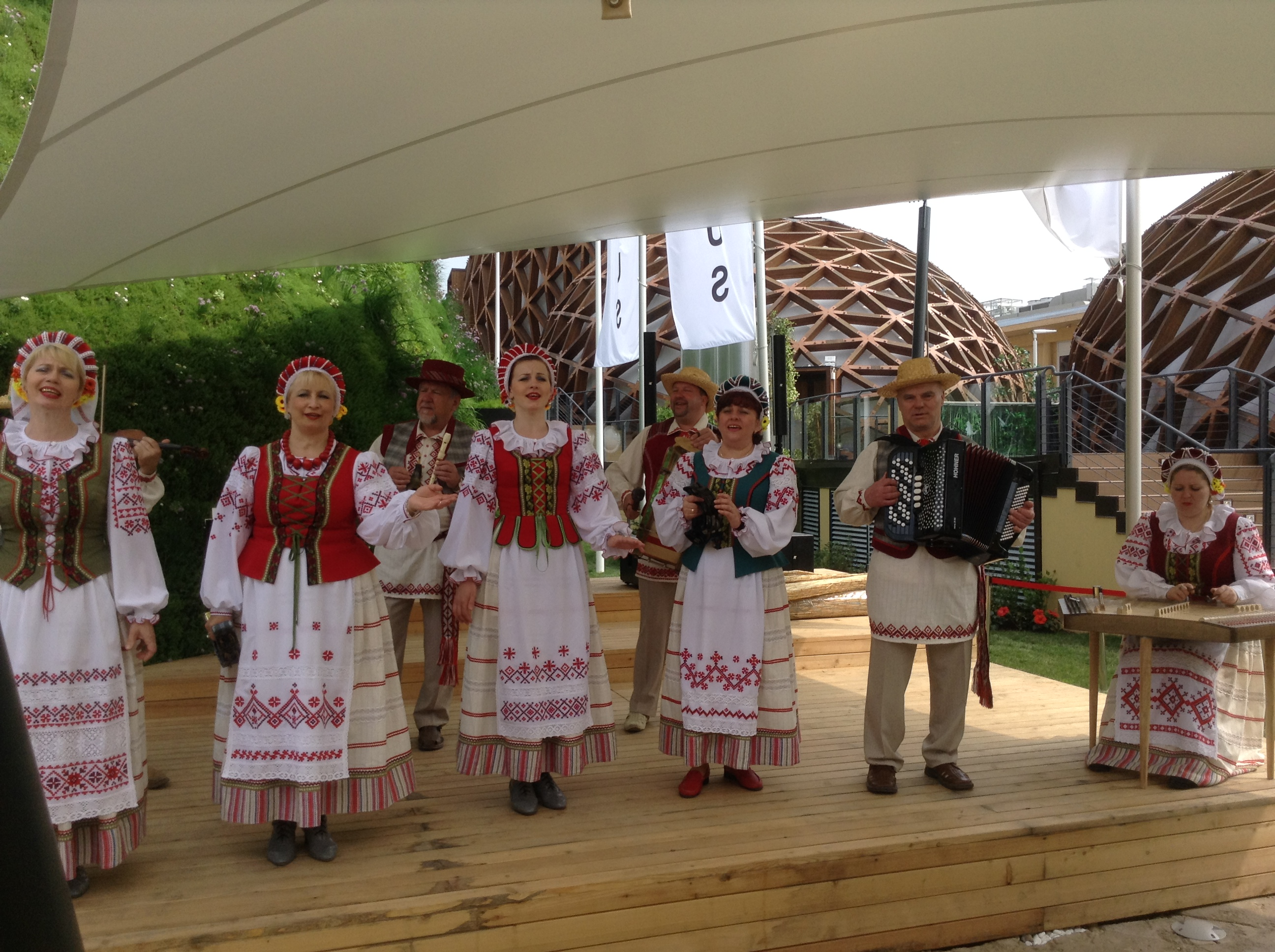 Belarus traditional music and dance, Milano Expo 2015, MilanKaRaja