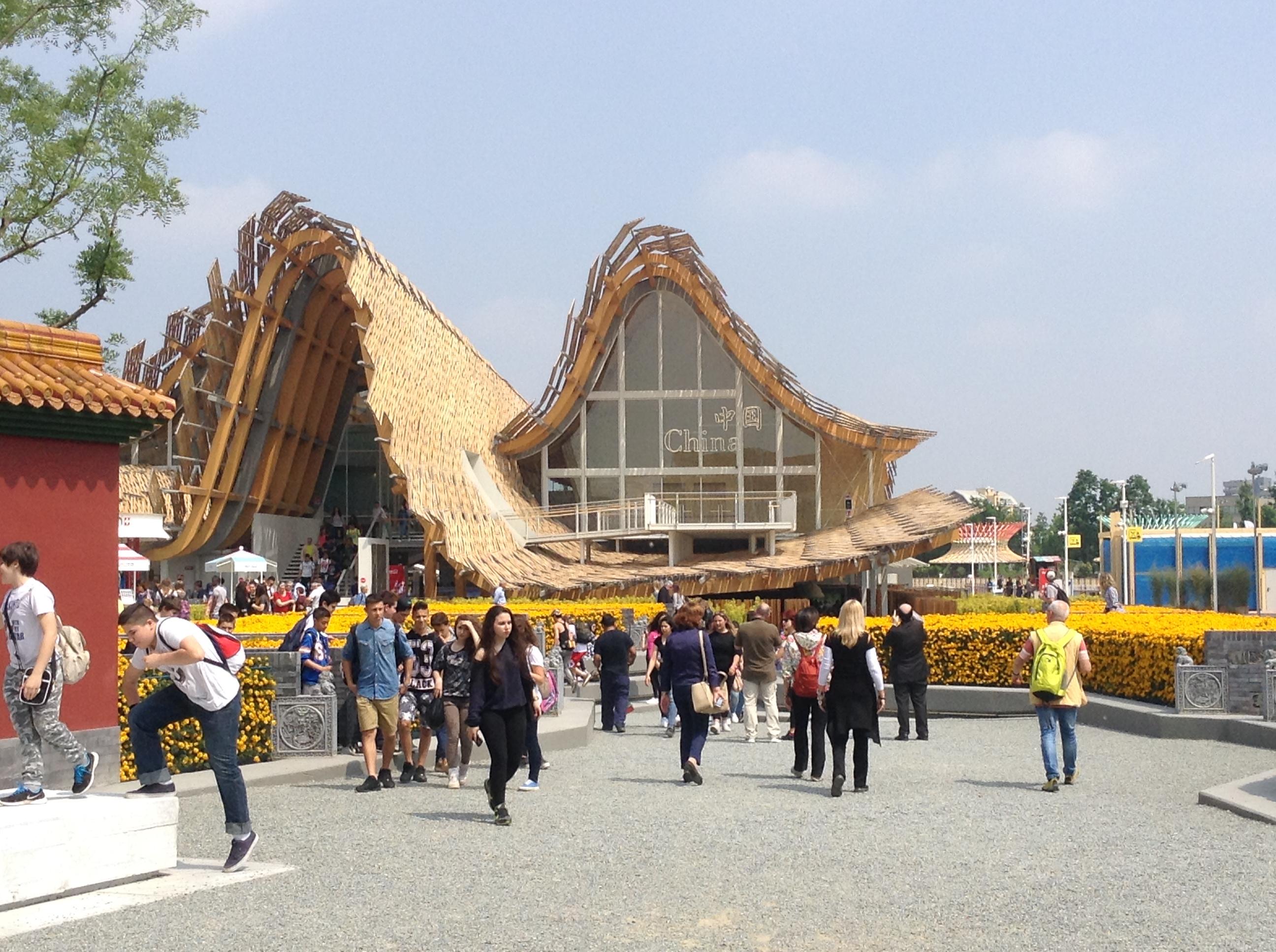 Chinese pavilion, Milano Expo 2015, MilanKaRaja