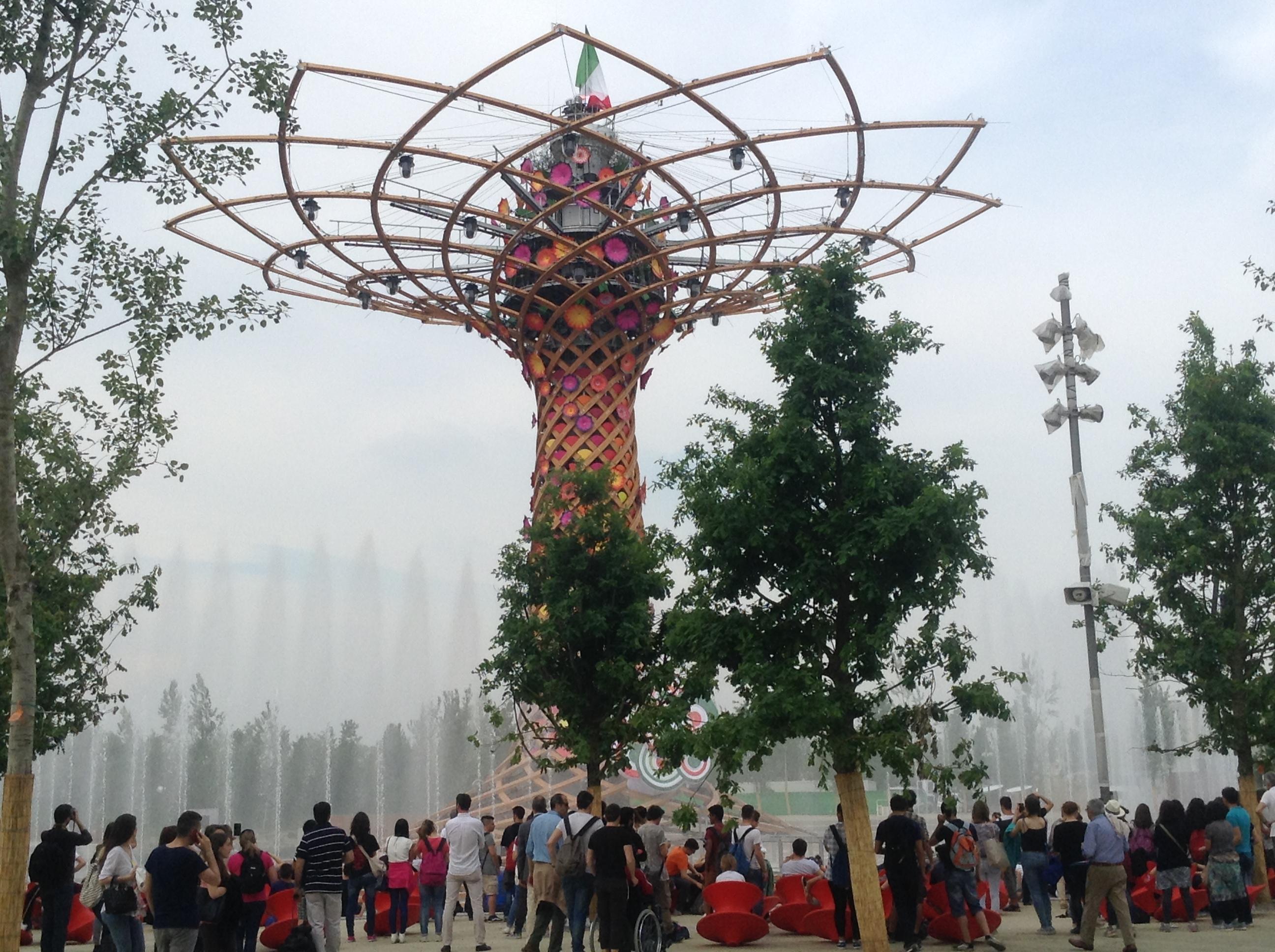 TREE OF LIFE / ALBERO DELLA VITA, Milano Expo 2015, MilanKaRaja