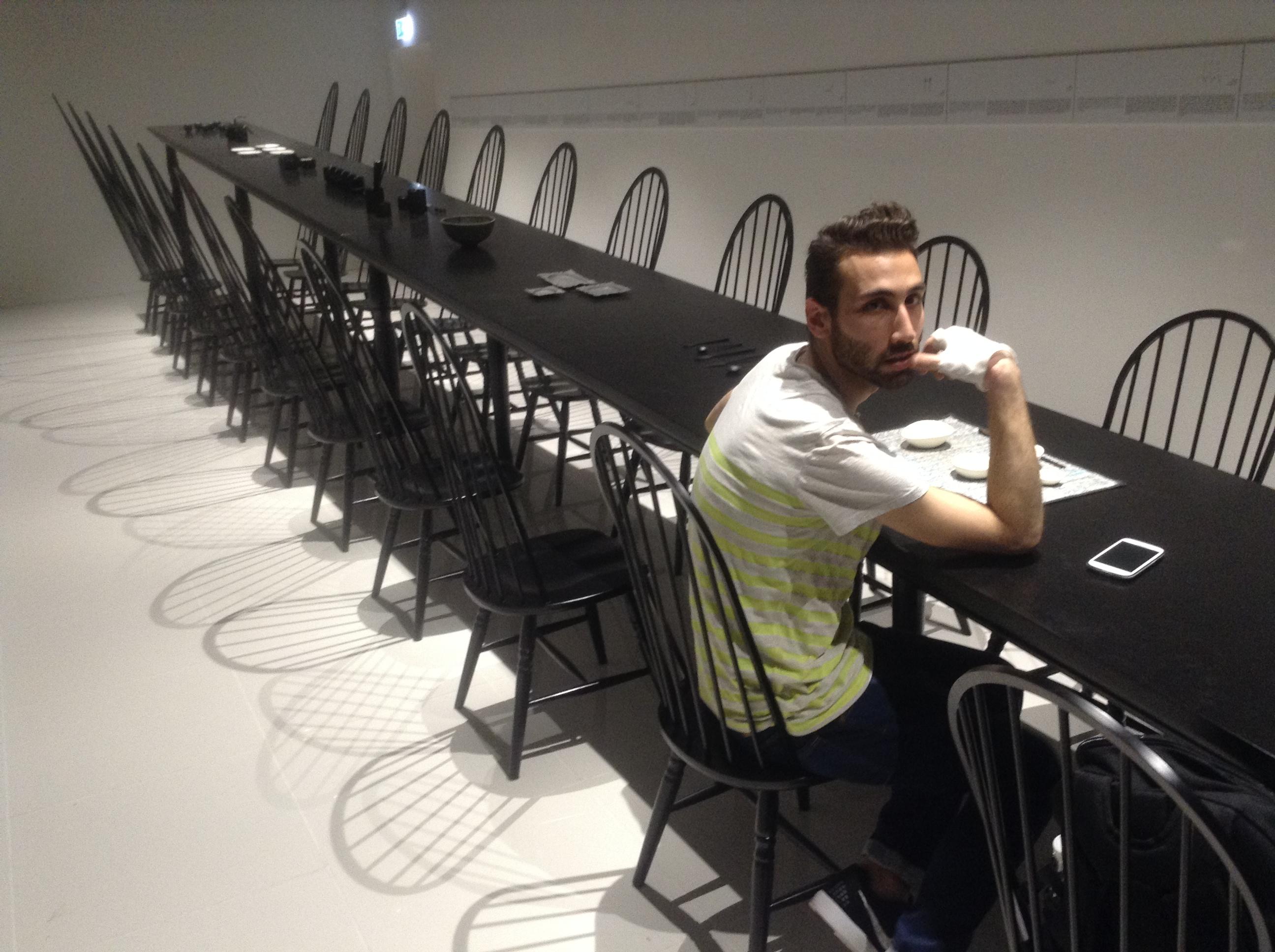 Adi in Japanese pavilion, Milano Expo 2015, MilanKaRaja