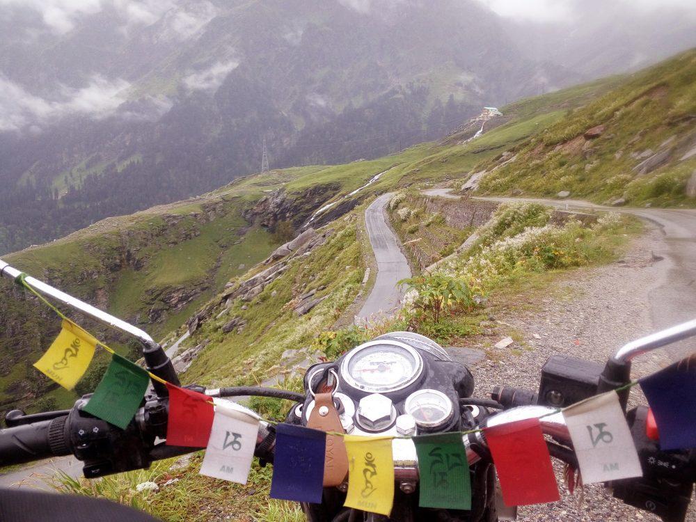 Motor Biking or Trekking? Jispa Valley, Trans-Himalaya, India