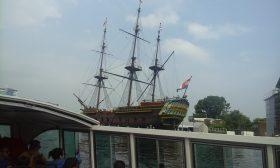 Sailing ship in Amsterdam
