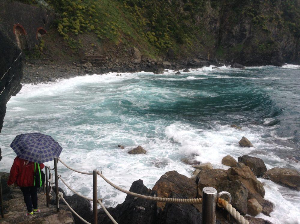 Sea in Cinque Terre