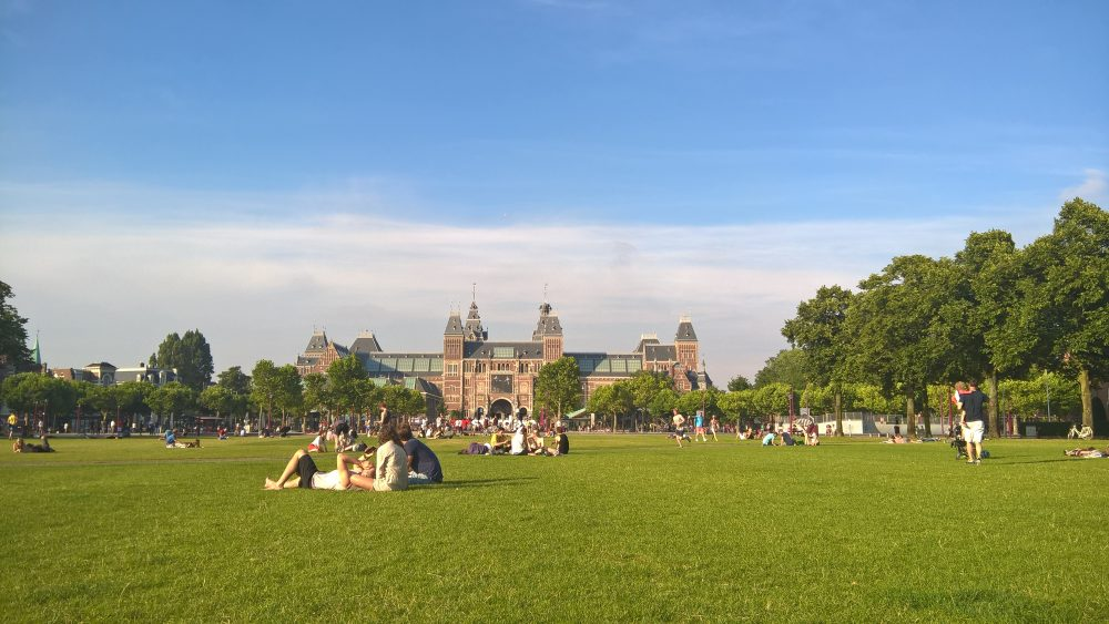 Amsterdam parks, milankaraja.com
