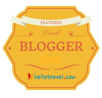 HelloTravel Featured Blogger Badge