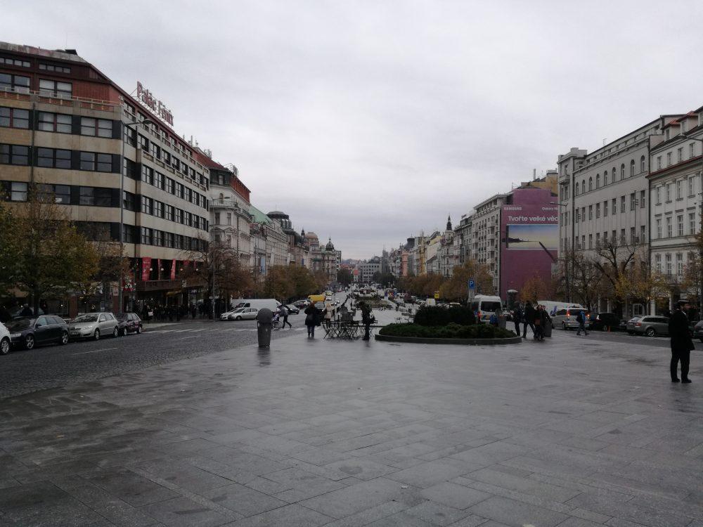 Wenceslas Square, Prague, Europe trip from India Blog